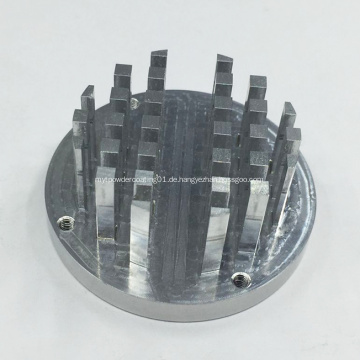 CNC Fräsen Bearbeitung Aluminiumteile für Kühlkörper