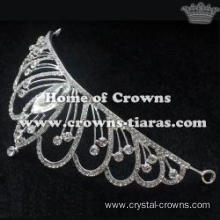 Crystal Bridal Tiaras With Big Diamonds