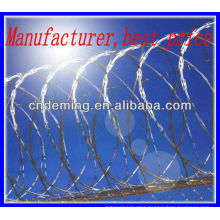 DM galvanized razor barbed wire manufactures over 20 years