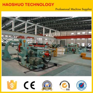 Máquina de corte de bobina de aço para bobina laminada a quente e bobina fria