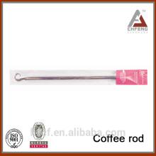 Верхний дизайн кофейной палочки, гибкий крючок для умывальника для душевой кабины, пружинный телескопический кофейный стержень