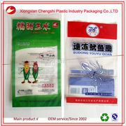 eco-friendly custom plastic frozen food packaging bags
