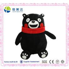 Logy Black Bear Kumamon Peluche Toy