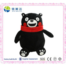 Urso Preto Logy Kumamon Plush Toy