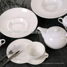 utensílios de mesa cerâmicos Hotel, louça de porcelana de hotel,