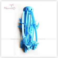 Diameter 43.0cm Foldable Round Plastic Cloth Hanger