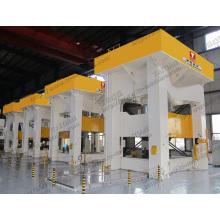 1200tons Piezas de automóviles Estampación de metales Prensa hidráulica de dibujo profundo