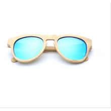 Fabricantes que vendem o homem de óculos de sol de bambu polarizado ambiental