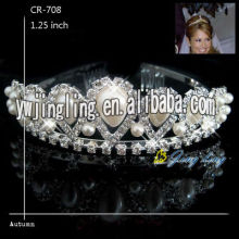 Rhinestone Pearl Bridal Jewelry