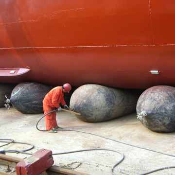 bv certificate ship docking and undocking pneumatic rubber airbag