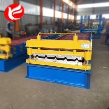 Machine de fabrication de rouleaux de panneaux en acier pour murs et toits