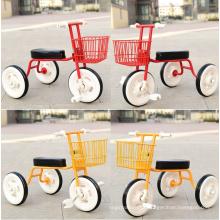 2017 triciclo de bebê simples de três crianças da bicicleta da roda das crianças três