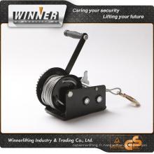 Trad protection 600lbs remorque de voiture de câble en acier à la main de la source de treuil