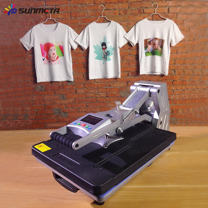 FREESUB Sublimation Flatbed T Shirt Heat Press Machine