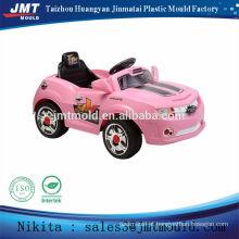 bebê cor-de-rosa RC bateria operado passeio de brinquedo no molde do carro