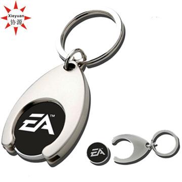 Kundenspezifische Einkaufen-Münzen-Schlüsselhalter