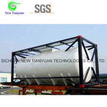 20m3 Volume Cryogenic 20FT Liquid Tank Cotainer