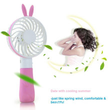 Rabbit Desktop Handheld Mini Fan USB for Outdoor