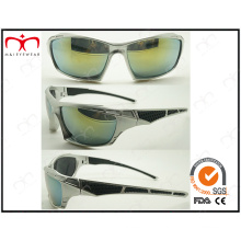 Handsome and Fashion Men′s Sports Plastic Sunglasses (2870RV)