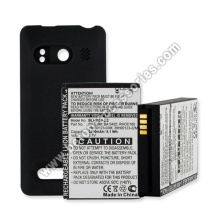 Extended Cell Phone Battery For HTC Evo 4G With Back Cover
