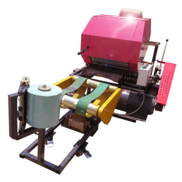 Automatic bale machine for silage bale