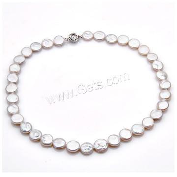 2016 Gets.com collar de perlas de agua dulce natural collar de perlas de perlas