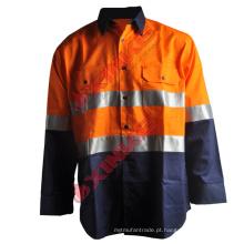 100% algodão anti mosquito camisas de trabalho