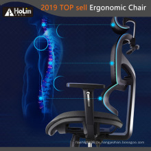 Ergonomischer Bürostuhl aus Mesh mit hoher Rückenlehne