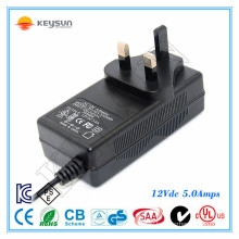 60W LED power supply 12V 5A AC DC Power supply