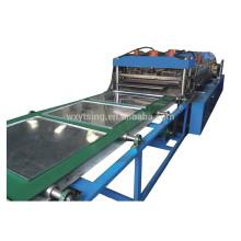 YTSING-YD-0419 pase el CE y el ISO rodillo de acero esmaltado completamente automático que forma la máquina de la caja del panel