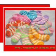 Knitting Moda Warmer Menina Sock