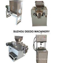 Máquina de producción de jabón de barra pequeña