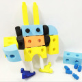 En71 RoHS Hr4040 ASTM Foam Blocks DIY EVA Toys 35PCS Set (10250559)