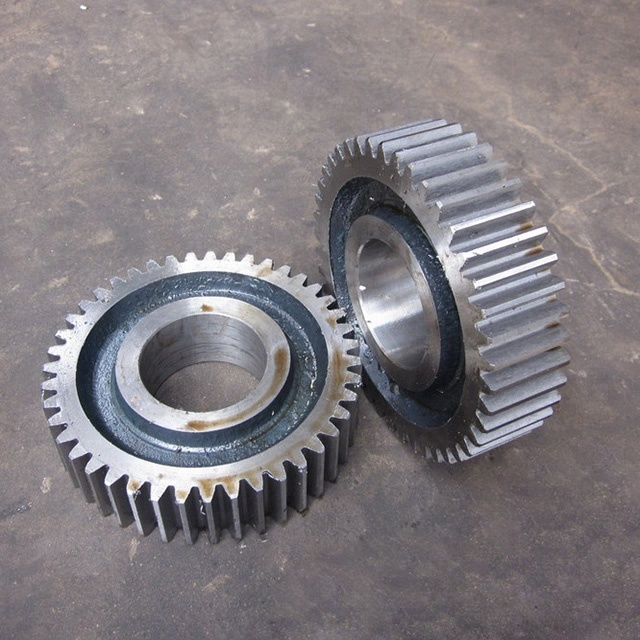 Heavy Duty Forging Steel Large Helical Spur