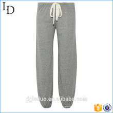 Calça de pijama de impressão 100% algodão jersey feminino