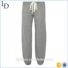 Женская 100% хлопок Джерси печать пижамные брюки