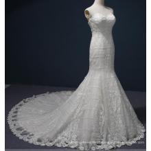 Querida Sereia Lace Bridal Evening Vestidos