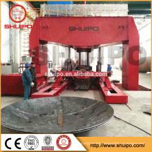 Hot Sale Sheet Metal Roll Forming Machine for Tank Production Line Hydraulic Tank Head Press Machine