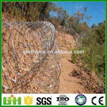 China Fábrica de suministro de bajo precio concertina razor alambre de cercado