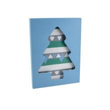 Novo quadro de fotos LED em madeira para Christams