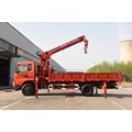 8 ton truck with crane