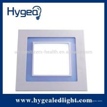20W haute luminaire2-5 ans garantie led panneau de lumière avec bleu et blanc