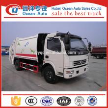Dongfeng 10cbm utilizado compresión camión de basura
