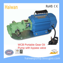 Commercial Hydraulic Gear Pump with Bypass Valve