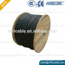 600V PE/XLPE insulated aerial bundled cable Triplex service drop ABC Cable with AAAC conductor Type Matatia,Barnacles,Soiaster