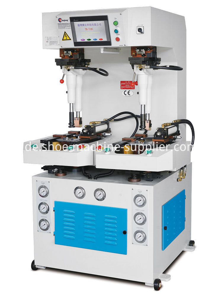 Sole Attaching Machine