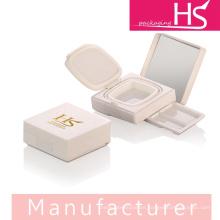 Cojín cuadrado de cimentación, caja compacta en polvo