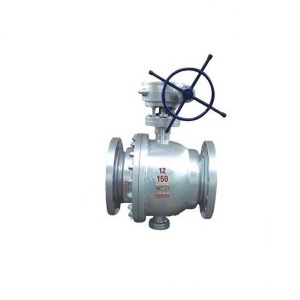 Low Pressure Trunnion Ball Valve