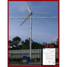 Interface de tela de toque do gerador 5kw vento turbina