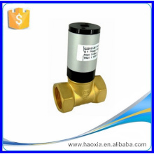 Single Action two-way pneumatic piston and liquid solenoid valve